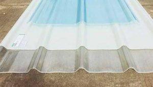 harga atap spandek transparan per lembar